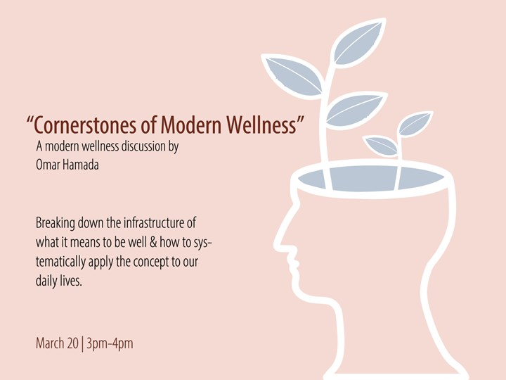 """Cornerstones of Modern Wellness"" Talk by Omar Hamada"