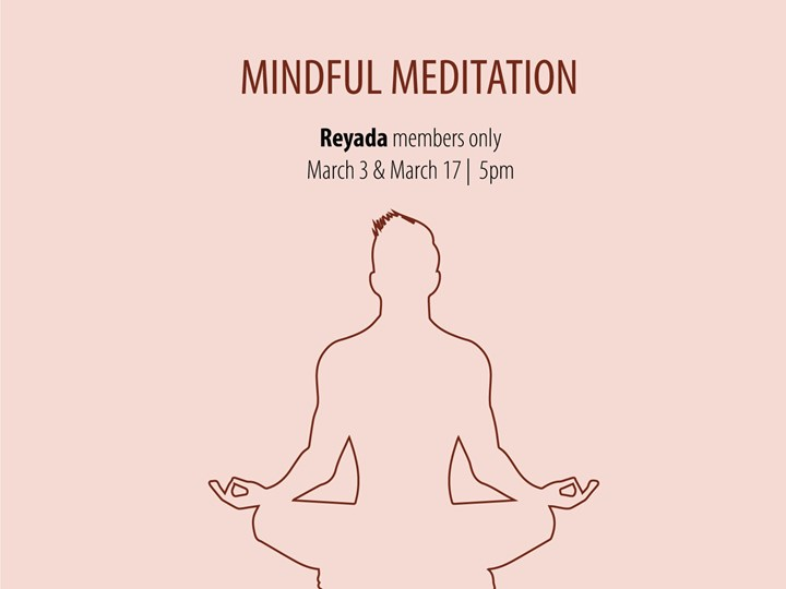 Mindful Meditation (Reyada Members ONLY)