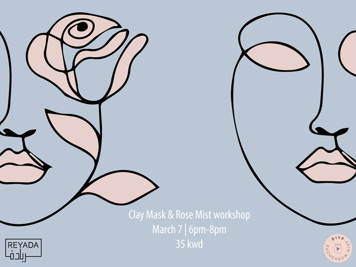 DIYP Clay Mask & Rose Mist Workshop